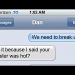 The Worst Breakup Text. Ever.