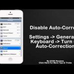 iPhone Auto Correct – On / Off – Tips that you didn't know about your iPhone