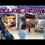 Selfie Prank (pretending to take pictures of people)