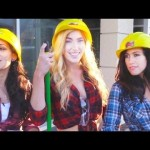 Sexy Female Construction Worker Experiment