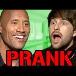 The Rock Interview PRANK