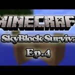 Minecraft – Skyblock Survival – The Most Efficient Farm Ever Built – Ep.4
