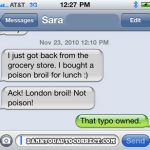 11 Funny Times Autocorrect Messed Up Lunch