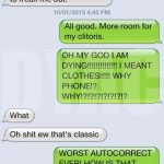 8 Times Autocorrect Ruined Your Clothes