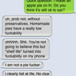 5 Times Autocorrect Spoiled the Pie